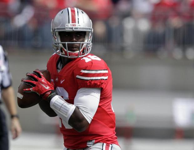 Barrett's 6 TD passes lead No. 22 Buckeyes, 66-0