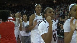 Women's basketball | South Carolina's size is too much for Ohio State