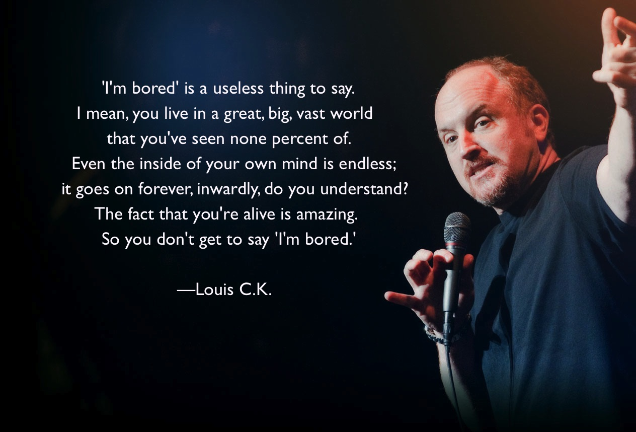 louis ck dating takes courage