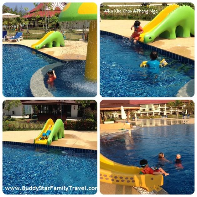 โรงแรม,ที่พัก,เกาะคอเขา,สไลเดอร์,น้ำพุ,สระว่ายน้ำ,ติดหาด,เด็ก