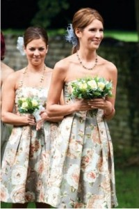 Floral Bridesmaids Dresses  Why Not? | Budget Brides ...