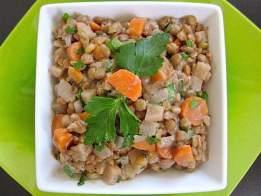 dijon lentil salad