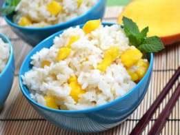 mango coconut jasmine rice