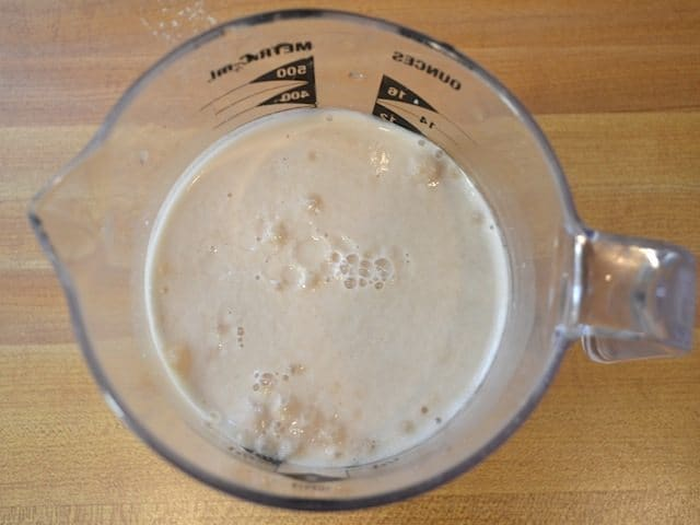 foamy yeast