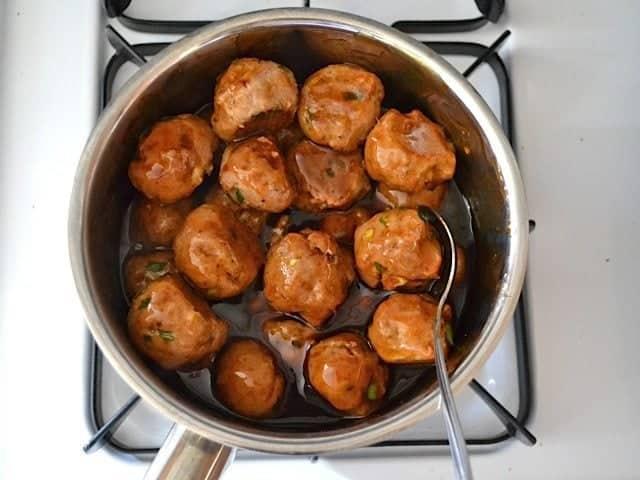Glaze Meatballs