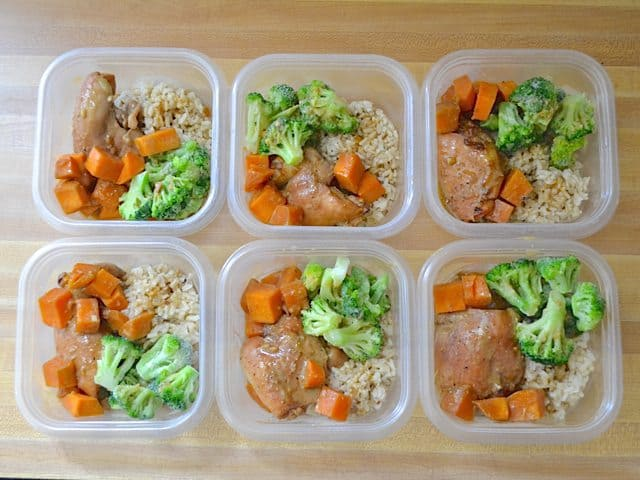 Soy Dijon Chicken Meals