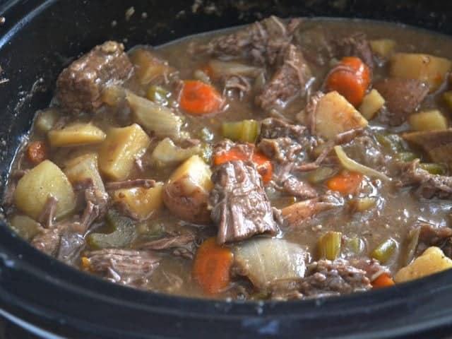 Stirred Beef Stew