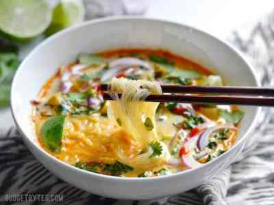 Thai Curry Vegetable Soup - Budget Bytes