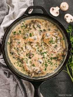 Small Of Cream Of Mushroom Chicken