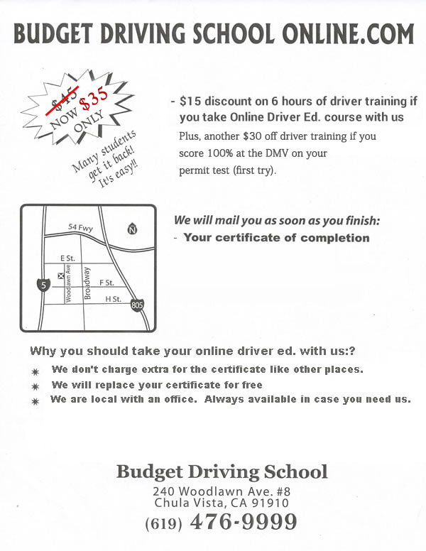 Drivered OnlineBudget Drivingschool