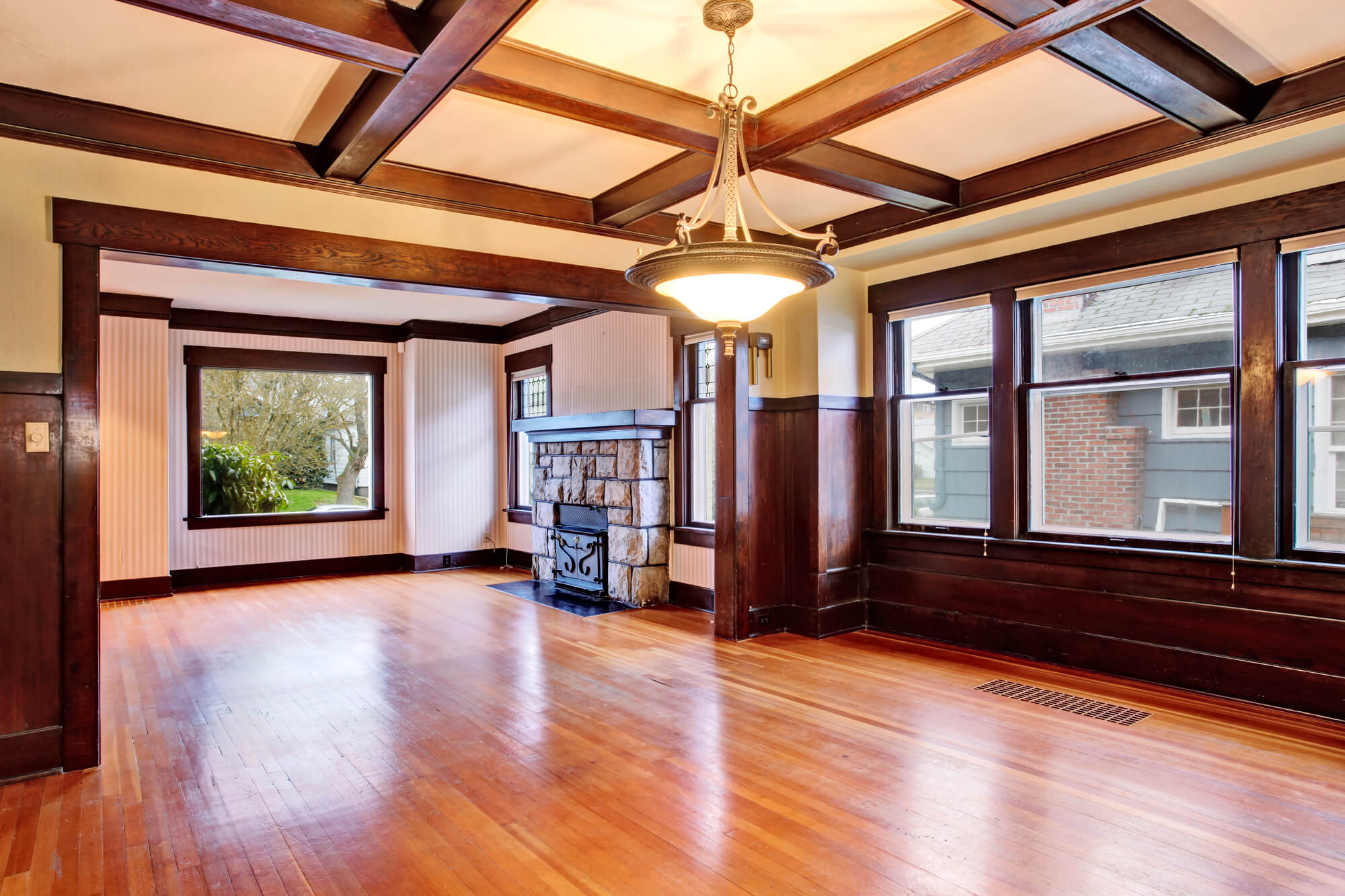 How to Build a Coffered Ceiling With Ease