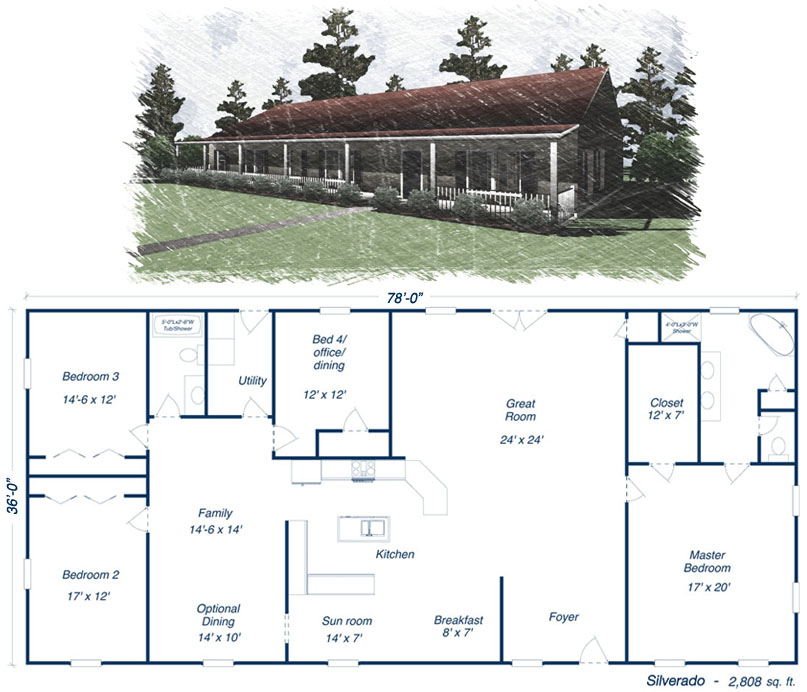 Simple Square House Plans The TNR-7604 - Manufactured Home Floor - best of blueprint country house