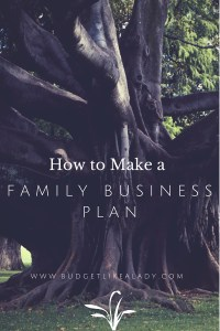 Family Business Plan