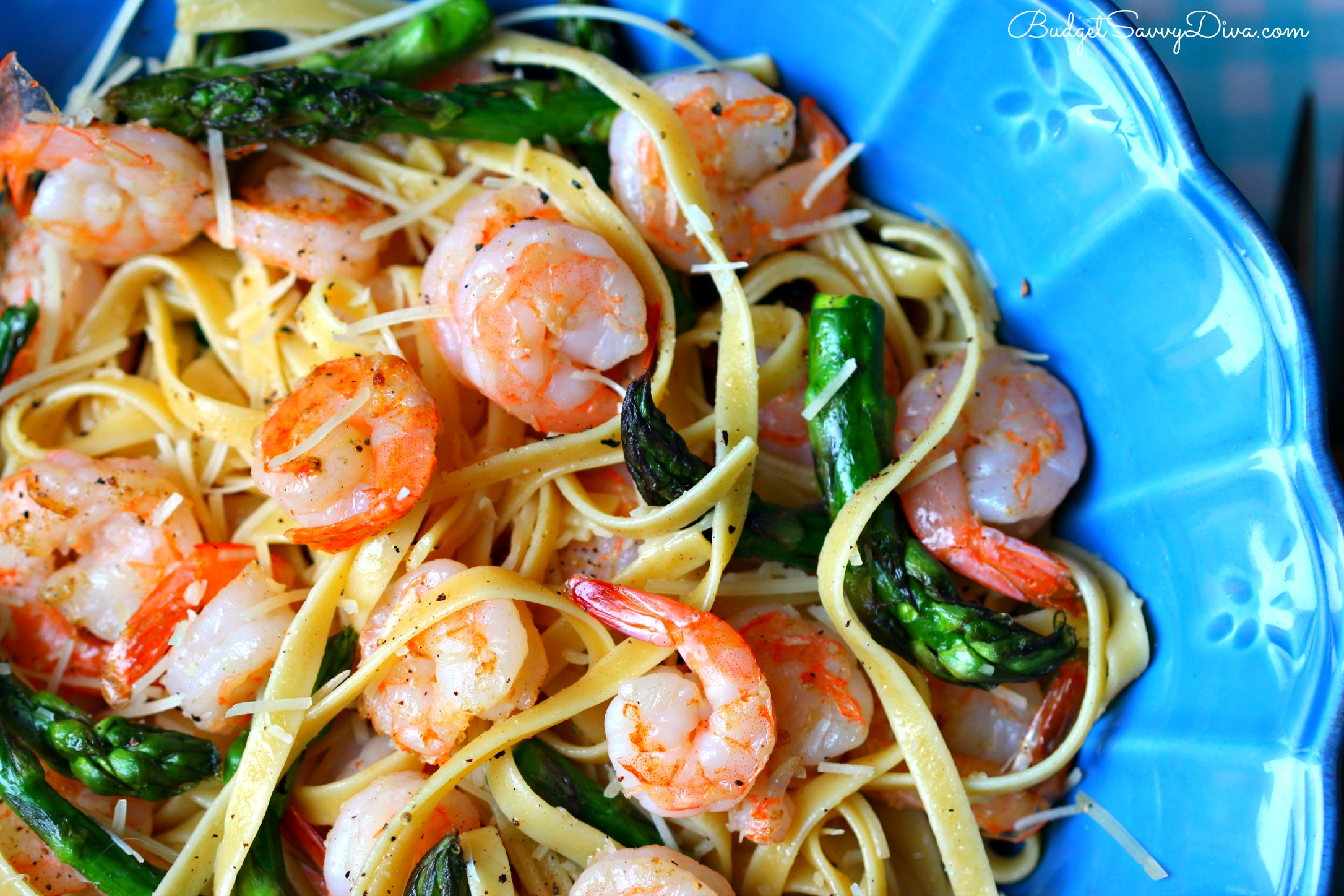 Fullsize Of Shrimp Asparagus Pasta