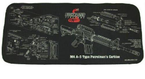 BF GUN CLEANING MAT W/M4 SCHEMATIC NEOPRENE 28X12