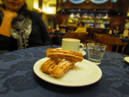 Churros, Confiteria del Hotel Castelar