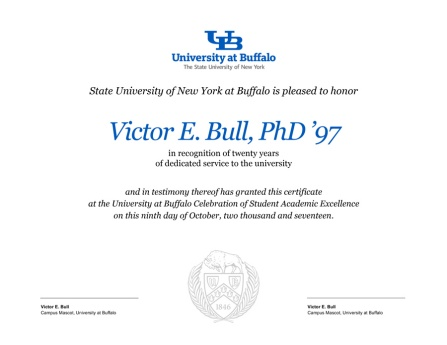 Award Certificate Templates - Identity and Brand - University at Buffalo - award templates