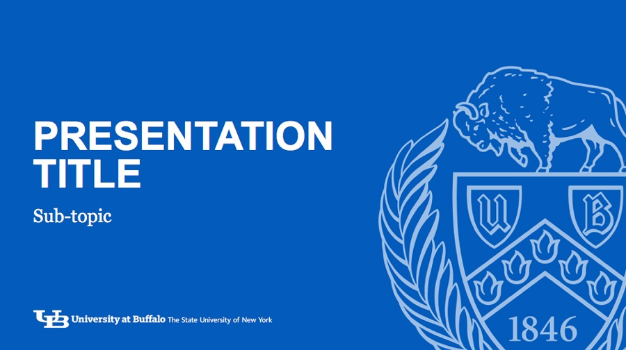 PowerPoint Slideshows - Identity and Brand - University at Buffalo