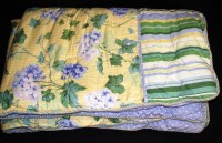 Waverly Hydrangea Comforter Set ~ Yellow Blue Green White ...