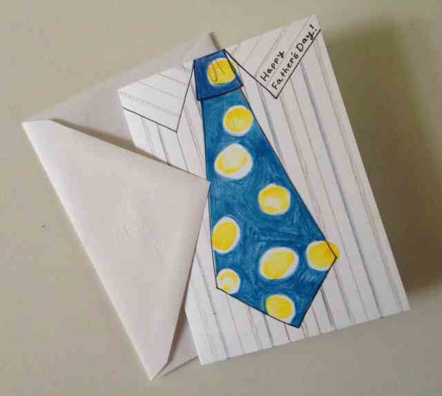 Fathers Day Baseball gift card with thumbprints