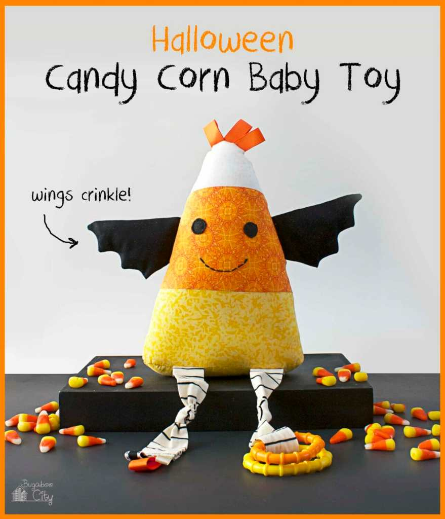 Halloween Candy Corn Baby Toy Tutorial