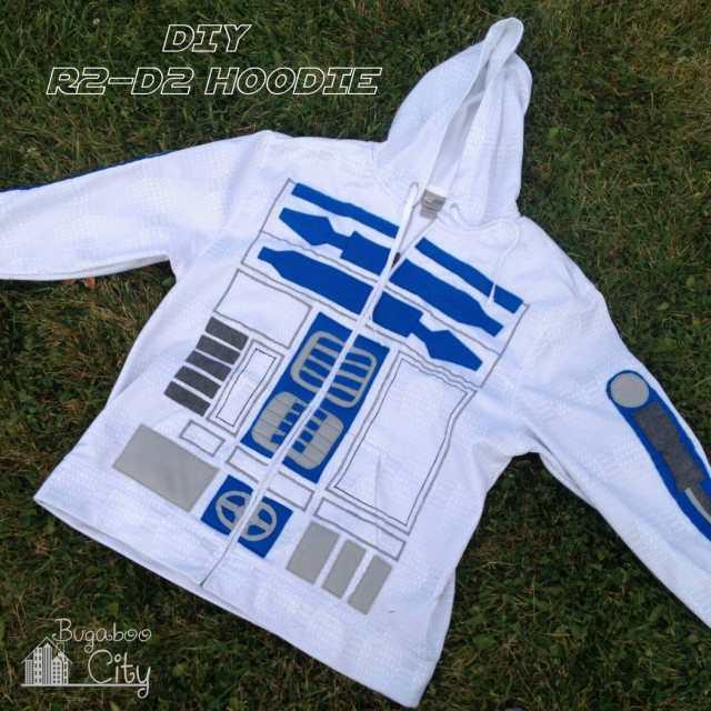 DIY R2-D2 Hoodie