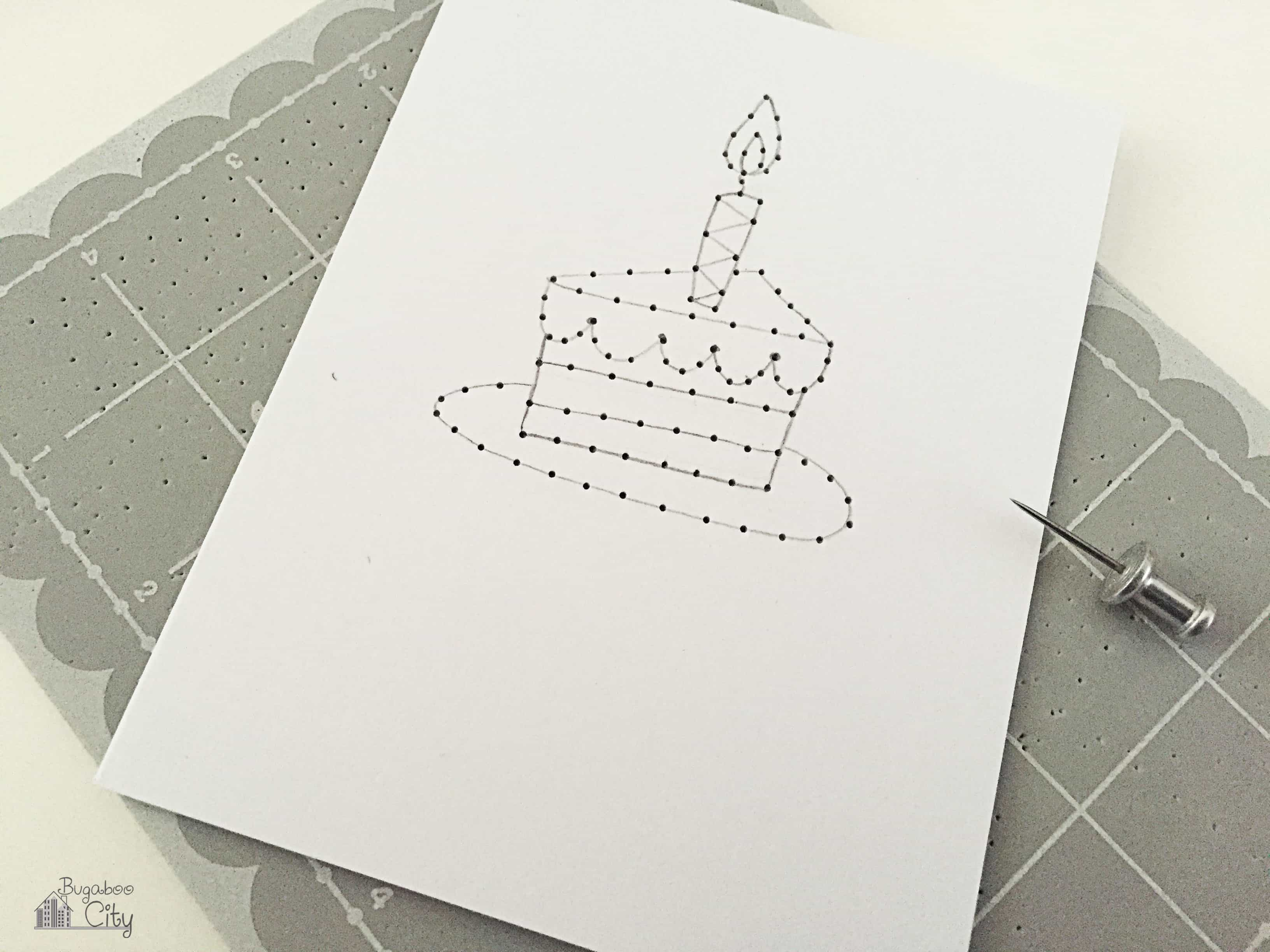 DIY Embroidered CardsBugabooCity
