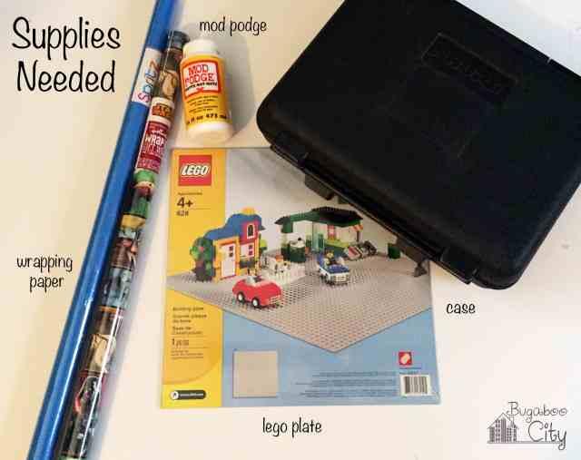 DIY Lego Travel Case