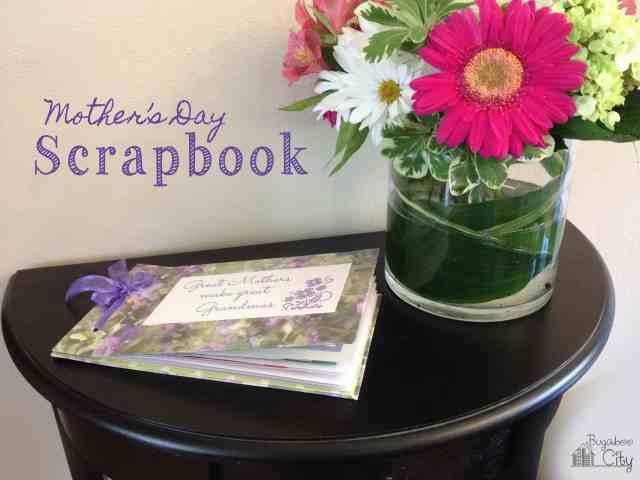 Mother's Day Scrapbook Tutorial