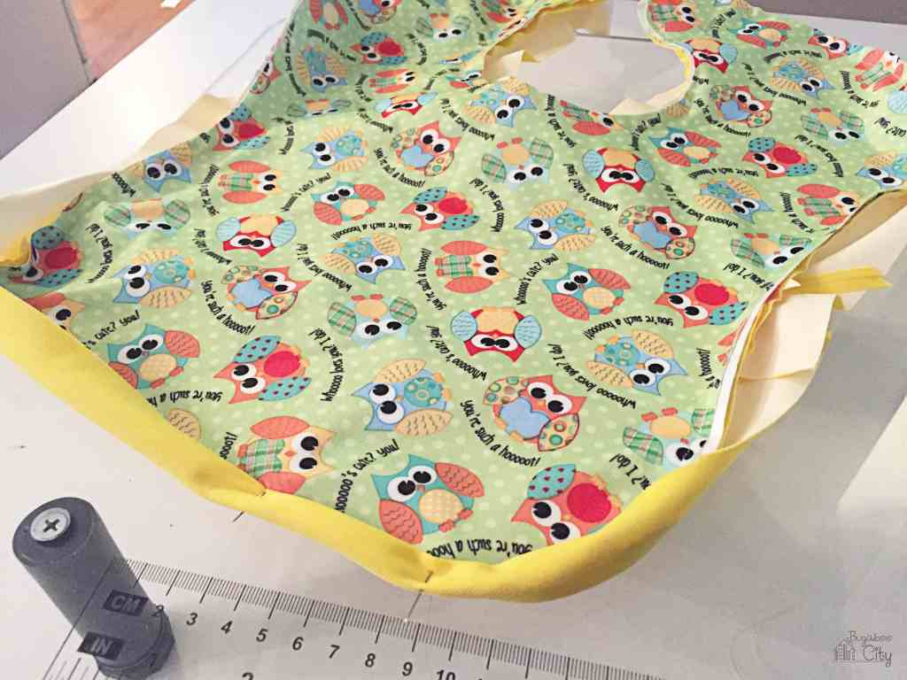 DIY Waterproof Baby Bib 10