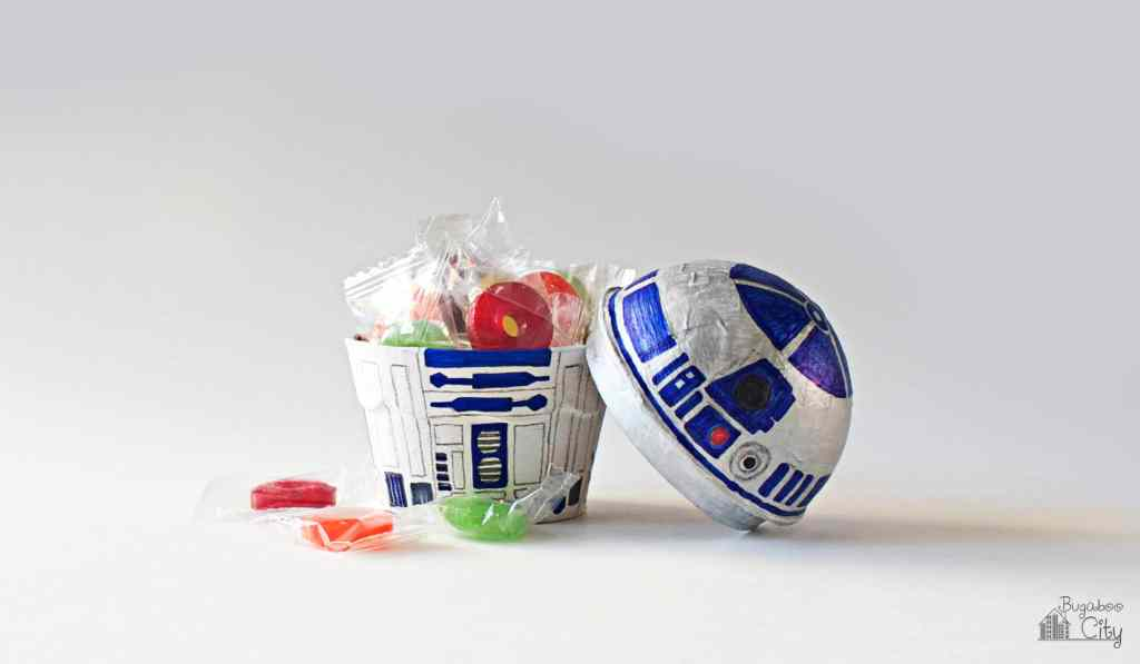 R2D2 Treat Box Star Wars Party Favors