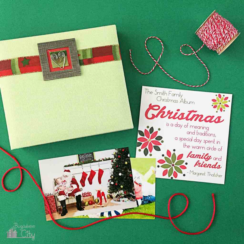 Christmas Family Scrapbook 3