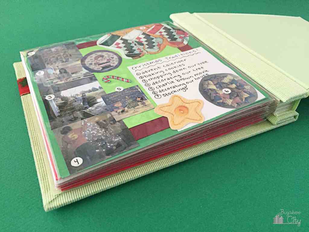 Christmas Family Scrapbook 7