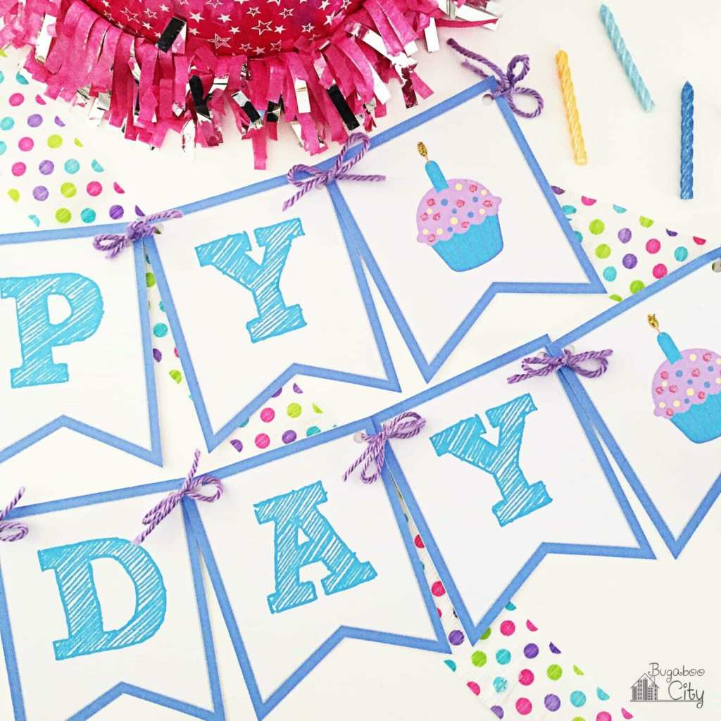 Birthday Banner Free Printable 11