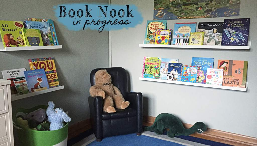 Bugaboo's Big Boy Rom Book Nook in Progress
