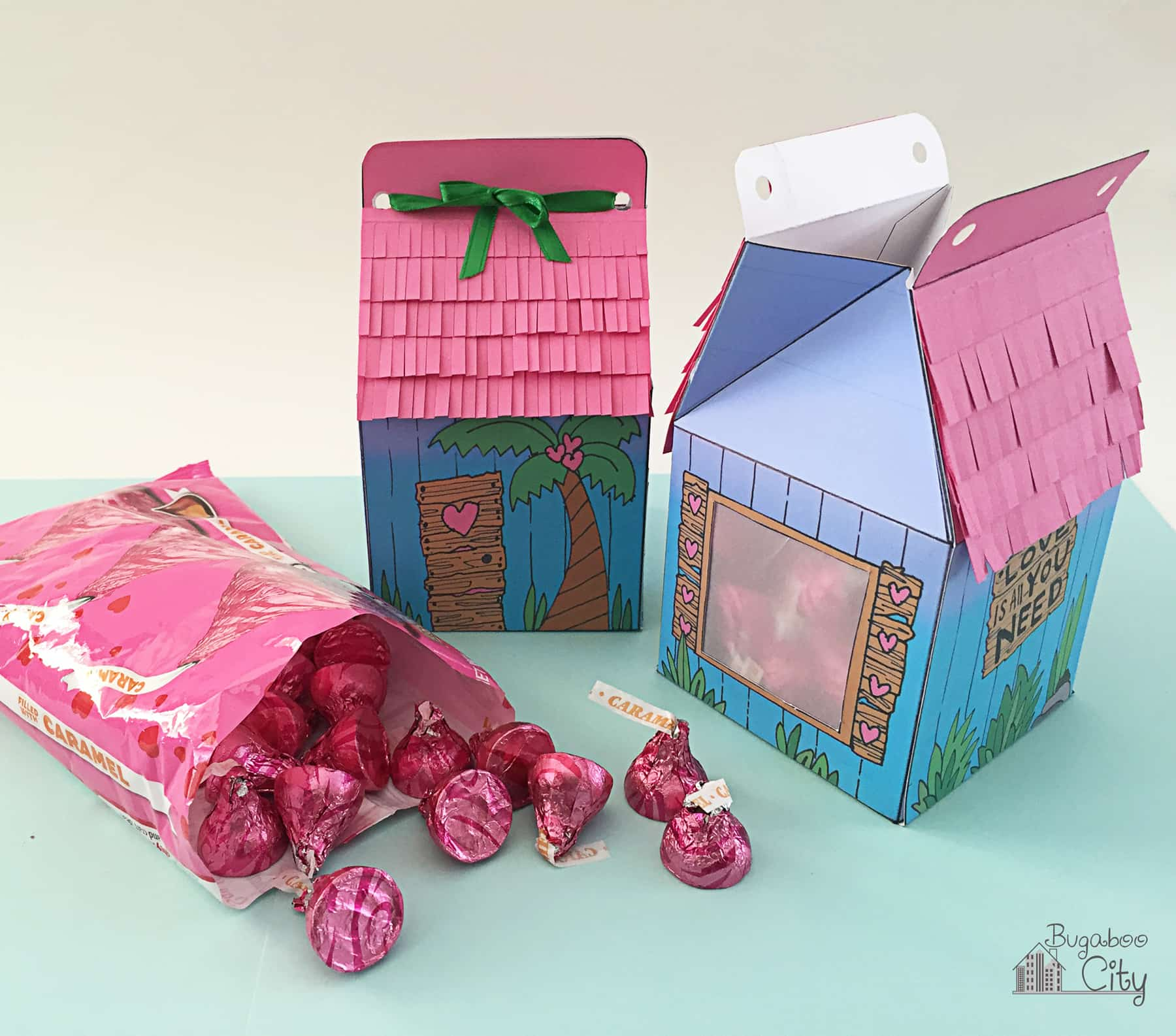 DIY Love Shack Valentine's Day Treat Box