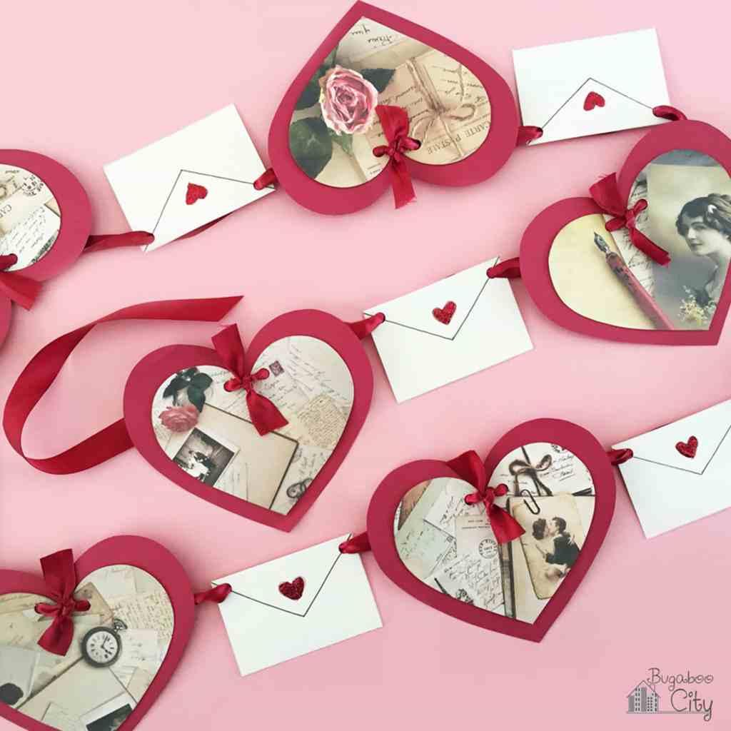 Love Letter Banner BugabooCity Valentine's Day