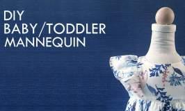DIY Toddler Mannequin