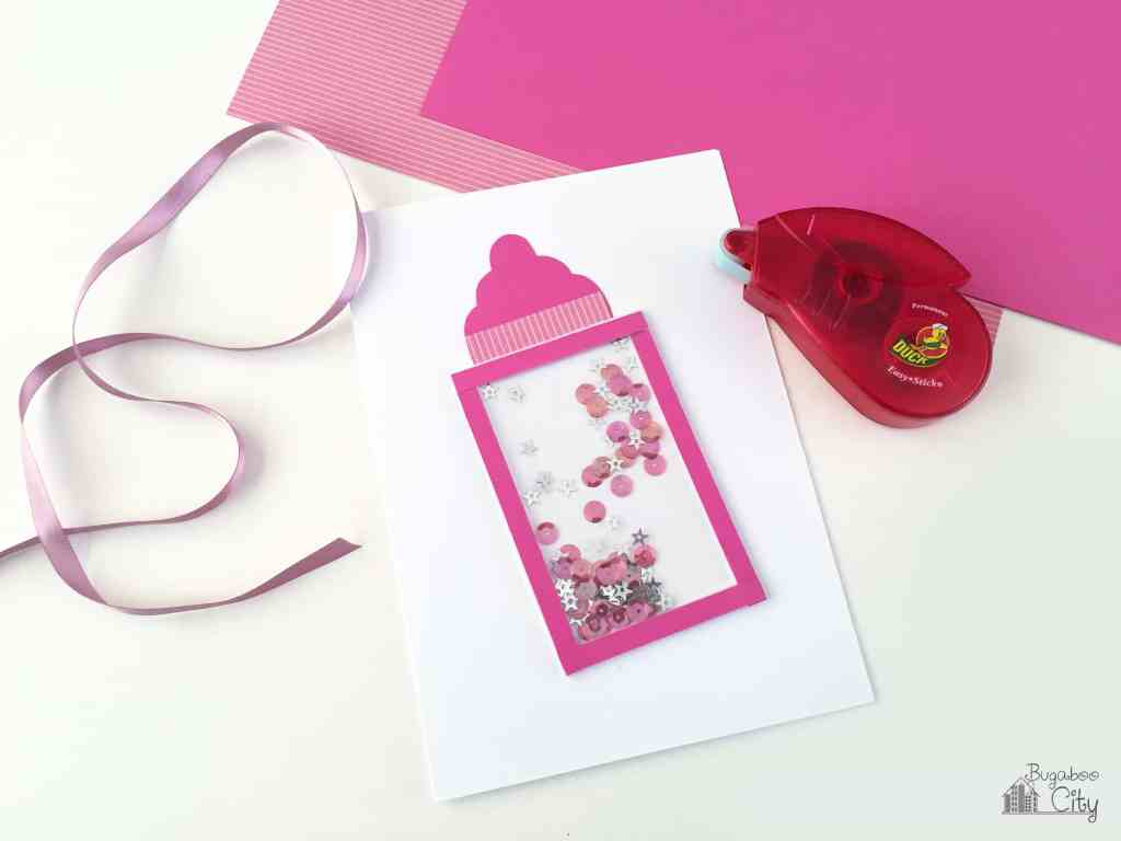 DIY Baby Shower Card
