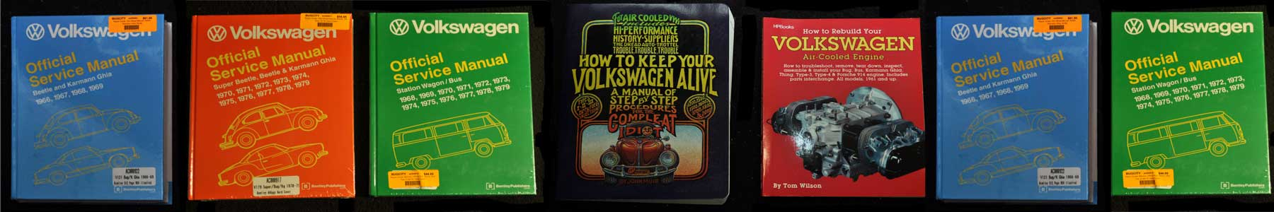 Classic Vintage VW ® Parts - New, Used Original, Refurbished and