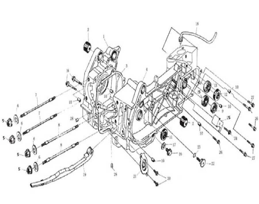 250cc chinese atv wiring diagram kinroad 250 raptor