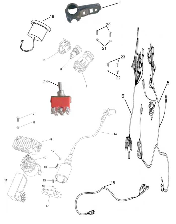 rock crawler wiring harness