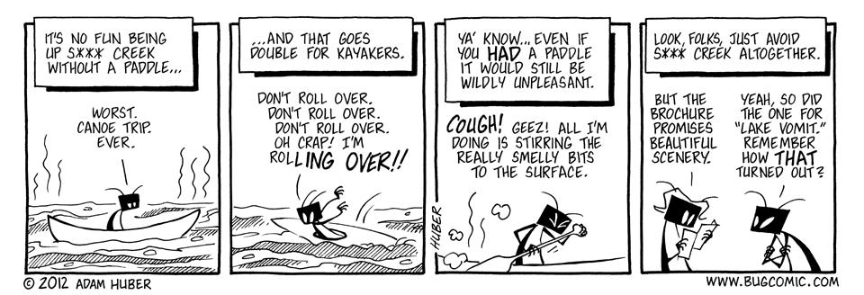A River Runs Poo It