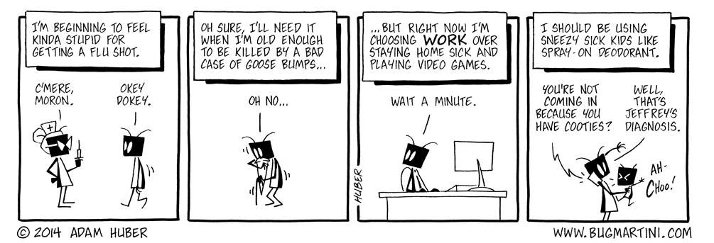 Sick of Work
