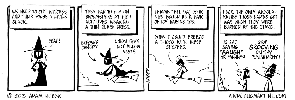 Keeping Abreast of Witches Issues