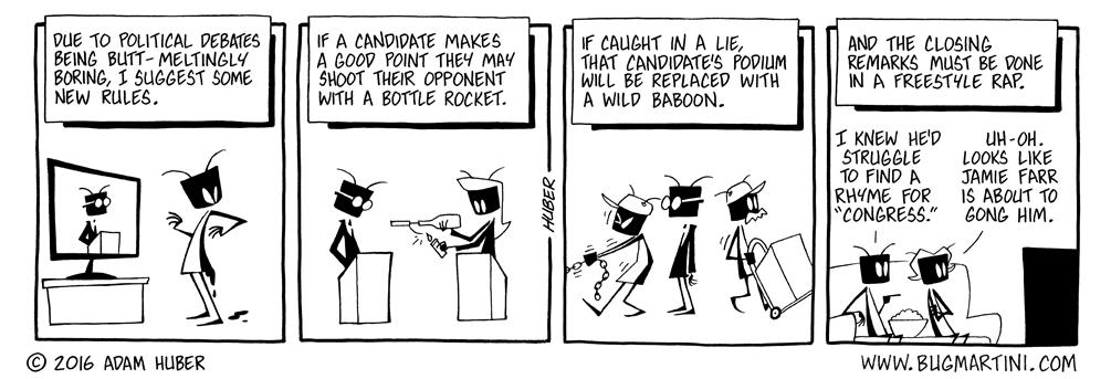 Ornate Debate Mandate