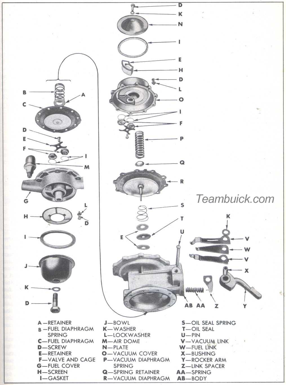 Buick Fuel Pump Diagram