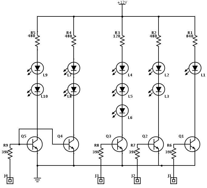 circuit diagram of electronics grasshopper electronics project