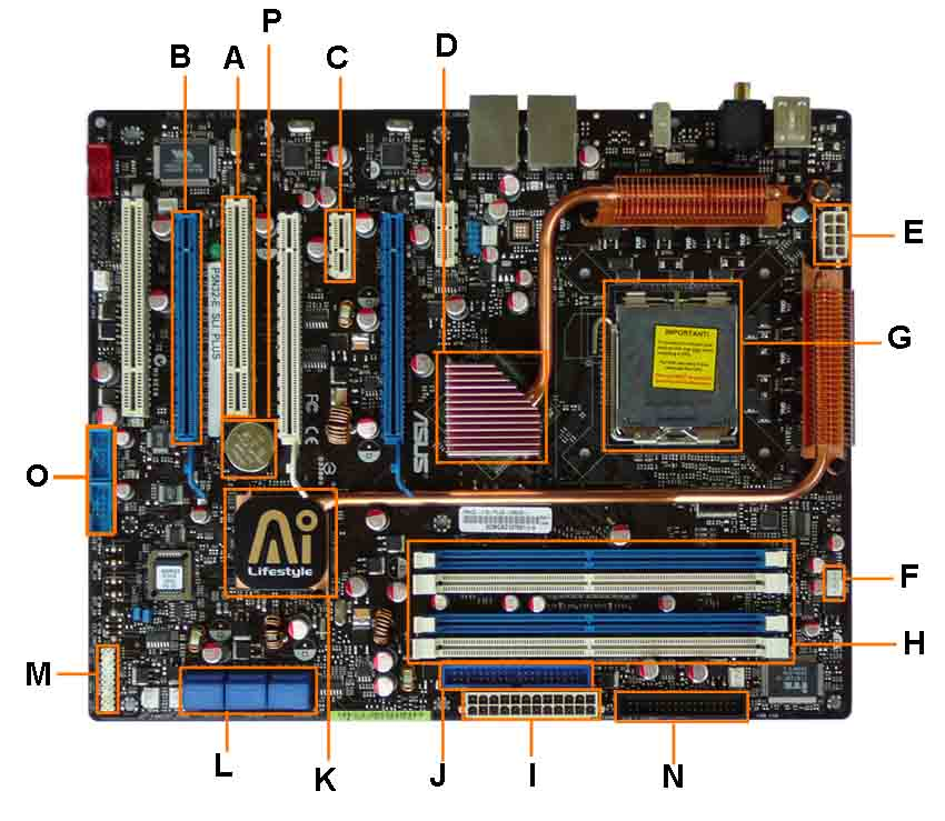 Pc Motherboard Wiring Diagram Electronic Schematics collections
