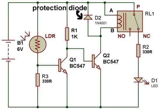 Relay Coil Wiring Diagram Wiring Diagram
